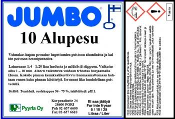 Jumbo 10 Alupesu