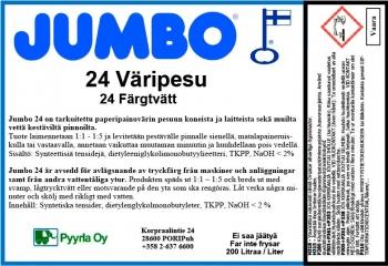 Jumbo 24 Väripesu