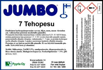 Jumbo 7 Tehopesu