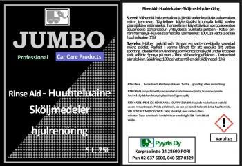 Jumbo Rinse Aid - Huuhteluaine
