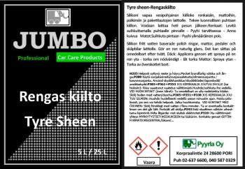 Jumbo Tyre sheen - Rengaskiilto