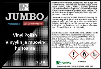 Jumbo Vinyylin ja muovin hoitoaine