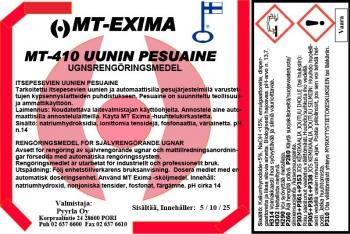 MT-410 Uunin pesuaine